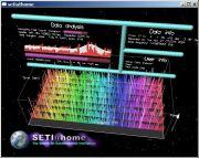 Screen-saver do projeto SETI@home