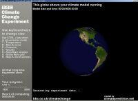 Screen-saver do projeto Climate Prediction