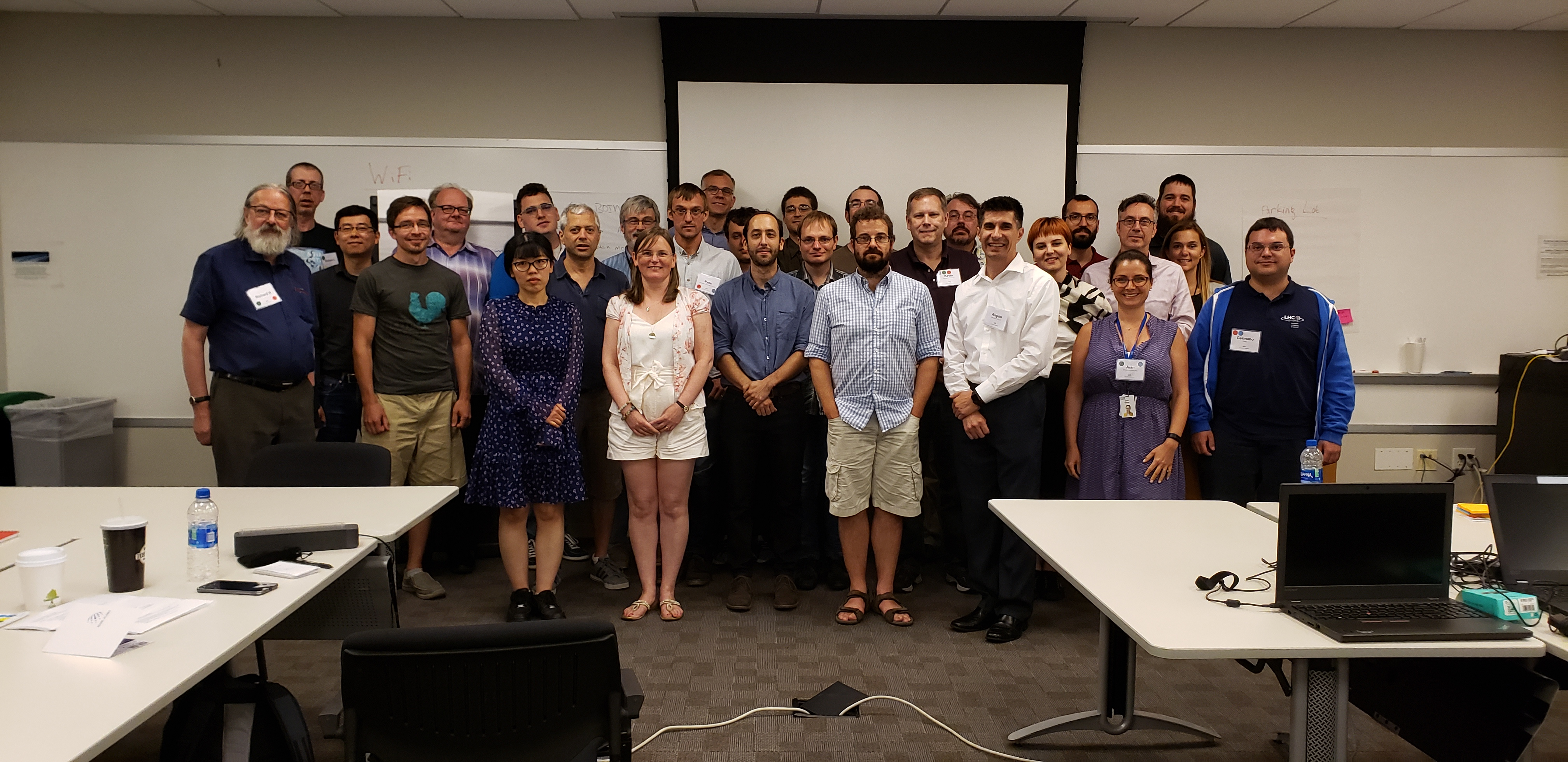 Attendees of the 2019 BOINC Workshop 1